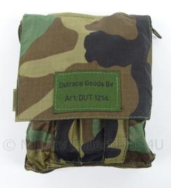 Korps Mariniers Forest camo onderhoudstas of notitieblok houder Dutraco Gouda Art.DUT1214 - origineel
