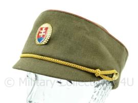 Tsjechische leger muts met rode bies maat 52 t/m 57 - origineel leger