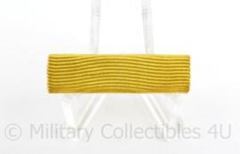 Nederlandse medaille baton met 1 medaille - Trouwe Dienst - 3,5 x 1 cm - origineel