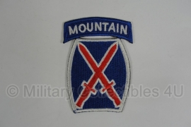 WWII US 10th Mountain Division patch