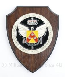 Defensie wandbord Koninklijke school voor onderofficieren - 18,5 x 14 x 1,5 cm - origineel