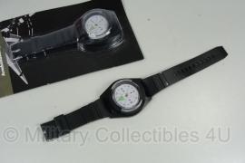 Armkompas modern zwart - nieuw
