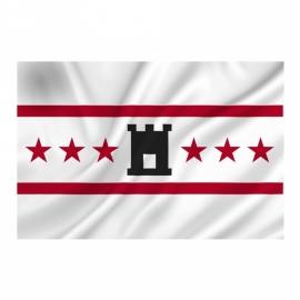 Provincie vlag Drenthe - Polyester -  1 x 1,5 meter