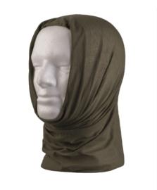 Multifunctioneel hoofddeksel - muts, balaclava, sjaal, hoofdband, etc. - GROEN