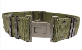 US Army Belt, Individual Equipment, Nylon,  LC2 kunststof sluiting - origineel US Army