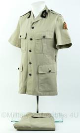 KL DT uniform set - tropen tenue  - maat 48 - Origineel
