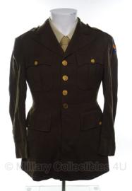 US Officer Class A jas - size 38 s = 48 kort - origineel WO2