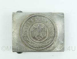 Heer vroeg model koppelslot GOTT MIT UNS - alluminium - gedetailleerd en gestempeld