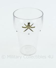 KCT Korps Commando Troepen  kunststof glas  - 11x 7 cm - origineel