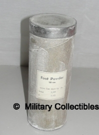 Foot powder - groot model 16 oz - origineel 1940