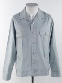 DDR lichtblauw overhemd lange mouw met zilveren knopen - maat 40N - origineel