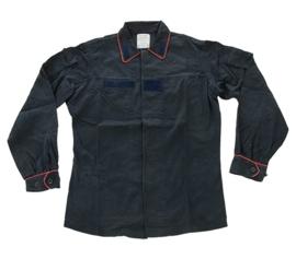 Donkerblauwe Italiaanse Carabinieri tactical field jacket - met bies - meerdere maten - origineel