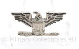 US Army  Colonel Speld voor op de overseas cap - 2,5 x 1,5 cm - origineel