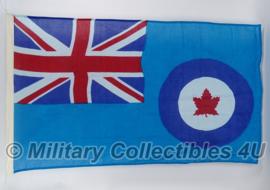 Oorlogse RCAF Canadese vlag Royal Canadian Air Force  - katoen