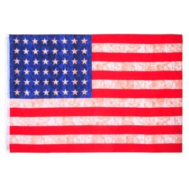 USA Vlag 48 sterren vintage - 100% katoen - 105 x 155 cm