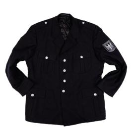Zwart uitgaans uniform - Brandschutz - bruikbaar als antiek politie of WO2 Duits uniform - meerdere maten - origineel