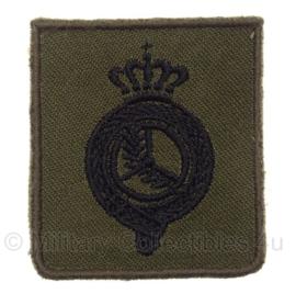 """KL Koninklijke Landmacht Brevet  """"bestuurder"""" - 4,5 x 5 cm - origineel"""