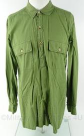 WO2 Brits/Canadees model overhemd - gedragen - maat 41/42 - origineel naoorlogs