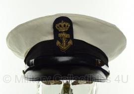 Nederlandse Koninklijke Marine pet - maat 55 - origineel