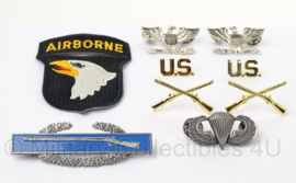 US officer insigne set Colonel 101st Airborne Division