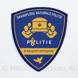 Politie draagploeg Nationale politie embleem - 10,5 x 9 cm - origineel