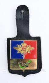 Belgische leger ABL DT borsthanger - 10 x 4,5 cm - origineel