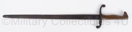 WO1 Duitse 1870 dress bayonet  Ewald Cleff Solingen gestempeld  - met eigenaar stempel E. Gathmann -  origineel