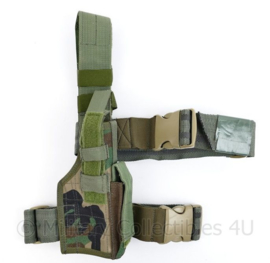 Korps Mariniers Forest Woodland camo Drop leg holster Eagle USA - 38 x 10,5 x 6 cm - origineel