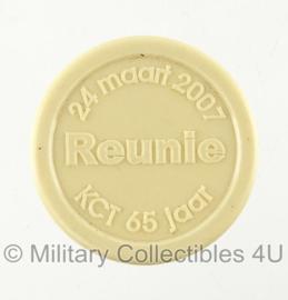 KCT Korps Commando Troepen munt rëunie 24 maart 2007 - KCT 65 jaar - origineel
