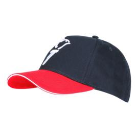 Baseball cap Baseball cap 75 jaar vrijheid - wit embleem en tekst - one size