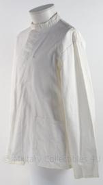 """KM Koninklijke Marine """"Tropenwit"""" uniform met opstaand boord toetoep - maat 50 - origineel"""