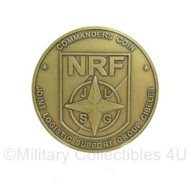 Defensie Coin - NRF Commanders Coin proefversie 2008 - origineel