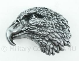 Nieuw gemaakte metalen adelaar broekriem sluiting