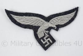 Luftwaffe borstadelaar blauw - manschappen - 1e model met droptail hangende staart
