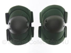 KL Nederlandse leger elleboogbeschermers - nieuw in verpakking - groen - origineel