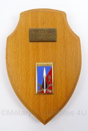 Franse Leger wandbord uit 1976 - afmeting 11 x 17 cm - origineel