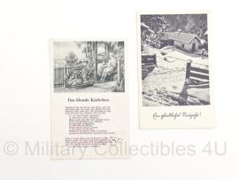 WO2 Duitse Postkaarten set - origineel
