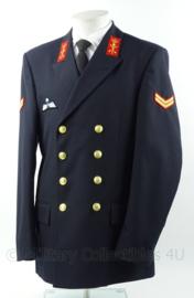 KM Marine Korps Adelborsten uniform jas met parawing - Korporaal-Adelborst - maat 51 3/4 - origineel