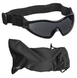 Tactical Para bril - donker glas -  zwart