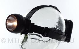 Nederlandse leger Petzl hoofdlamp - zwarte band - ongebruikt - origineel