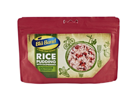 Blå Band Outdoor Breakfast Rice Pudding with Raspberry ontbijt - t.h.t. december 2022