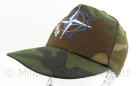 NATO IFOR baseball cap Camouflage - one size - origineel