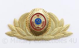 USSR Russische leger pet insigne Officier  - 9,5 x 5 cm - origineel