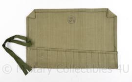 MVO groene toolroll voor gereedschap 1951 - 23,5 x 35,5 cm - origineel