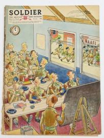 The British Army Magazine Soldier Vol.8 No 12 Februari 1953 -  Afkomstig uit de Nederlandse MVO bibliotheek - 30 x 22 cm - origineel