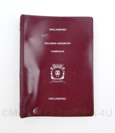 Korps Mariniers Soldiers Handbook Cambodja - origineel