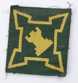 Defensie KL Basiscommando embleem 1954-1960 - origineel