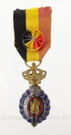 Belgische Eretekens van de arbeid 1e klasse goud  - origineel