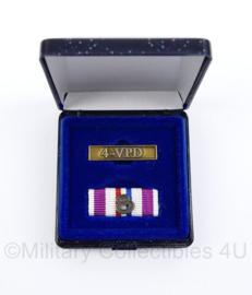 Korps Mariniers medaillebalk met metalen balk 4-VPD Vessel Protection Detachment - origineel