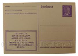 WO2 Duitse ansichtkaart postkarte Der Fuhrer - origineel